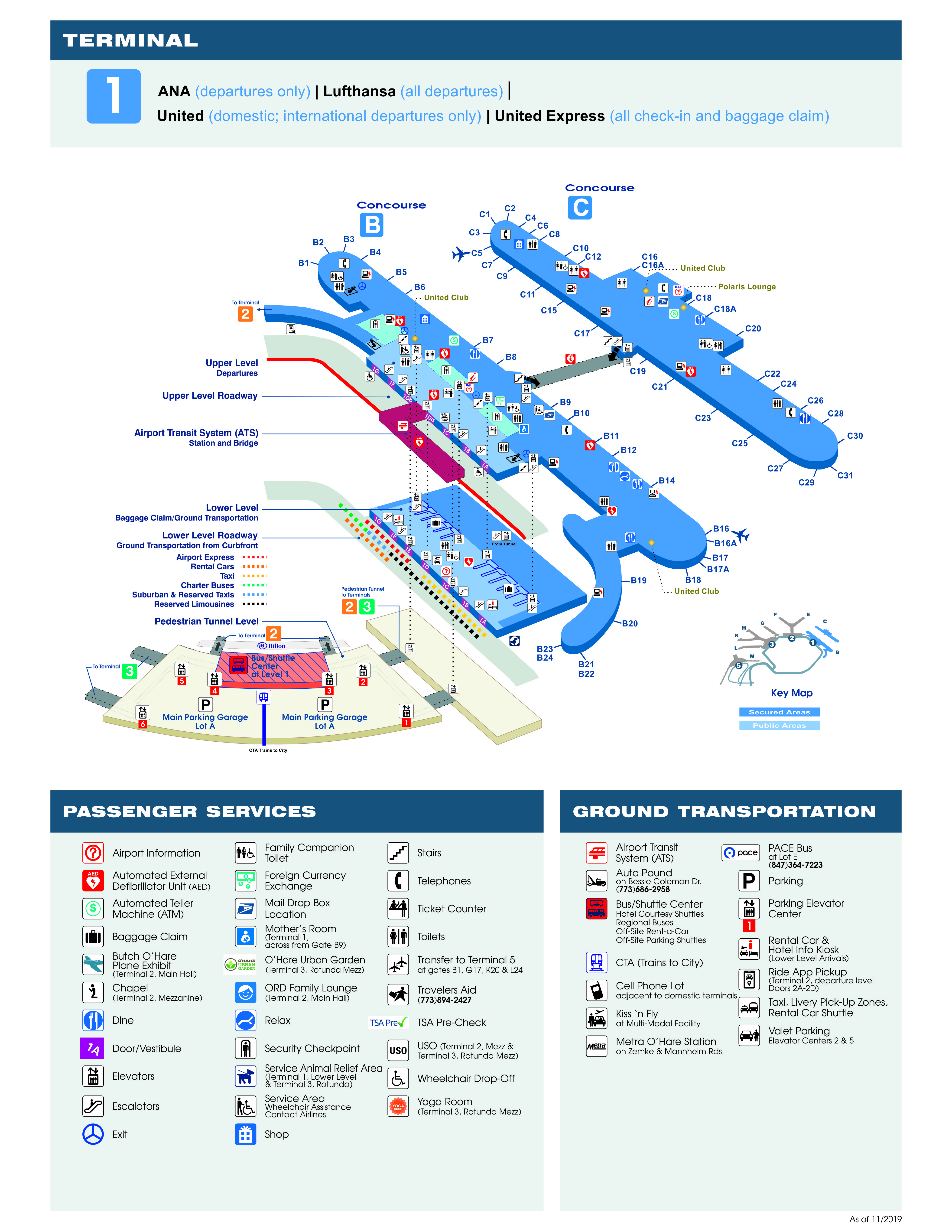 Printable Maps | Chicago O'Hare International Airport (ORD) on o'hare airport map, o'hare restaurant map, o'hare modernization map, o'hare parking map, chicago south lawndale map, o'hare field map, o'hare cargo map, o'hare arrivals map, united airlines o'hare map, o'hare concourse map, o'hare area map, o'hare gate map, chicago regional map with locations, hyatt o'hare map, elgin o'hare map, official o'hare map, o'hare bus shuttle center map, o'hare blue line map, chicago airport map,