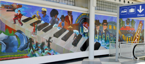 Airport Art | Chicago O'Hare International Airport (ORD)